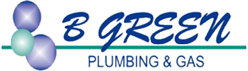 B Green Plumbing and Gas logo