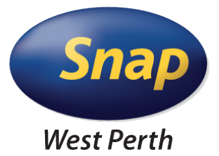 Snap West Perth logo