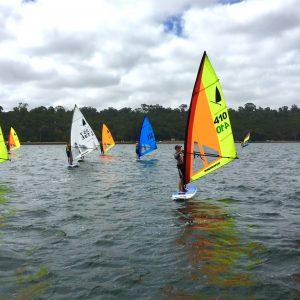 2021 australian masters games windsurfer class event