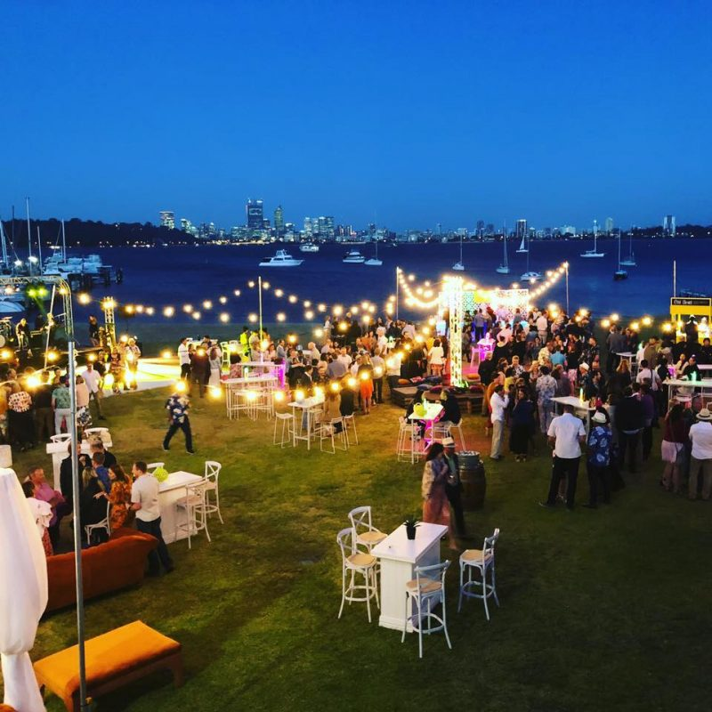 Christmas Party on Lawn - 400.00